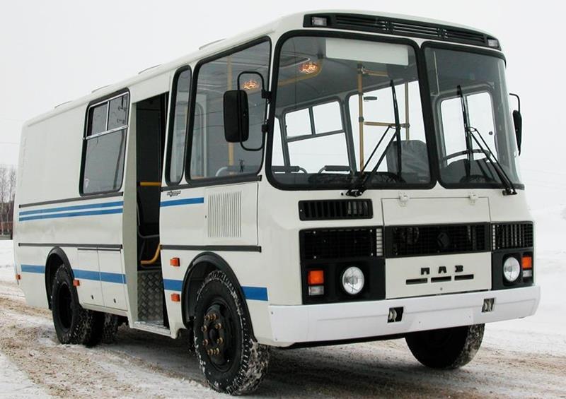 Автобус ПАЗ-32053-20 (грузопассажирский)