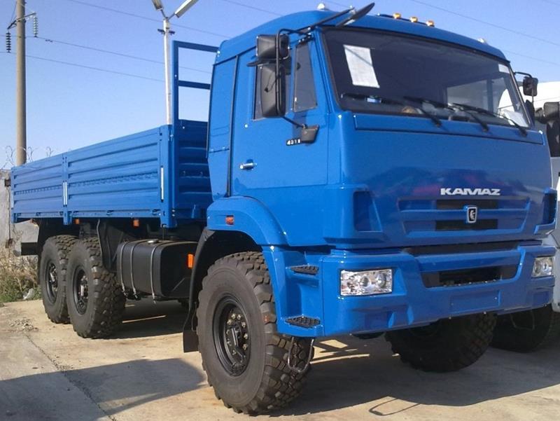 КАМАЗ-43118 (6х6)