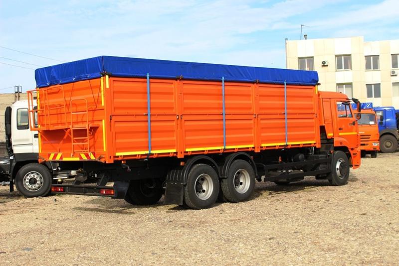 Автомобиль бортовой 6387 зерновоз