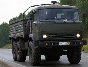 Камаз-5350 (6х6)