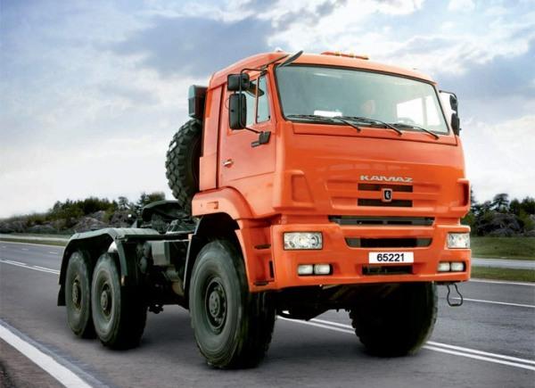 КАМАЗ-65221 (6x6)