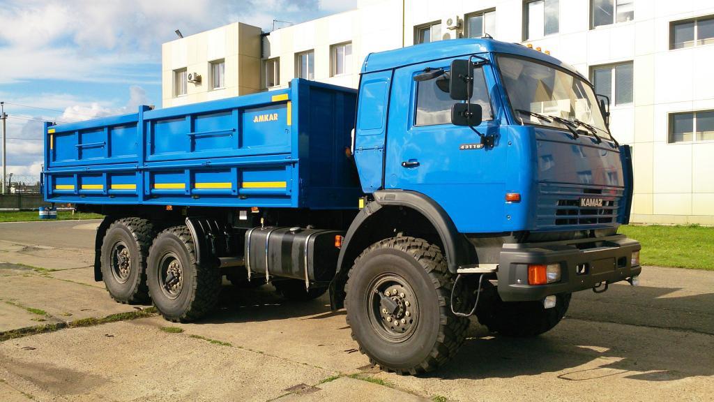 Автомобиль самосвальный 658901-42М (АМКАР)