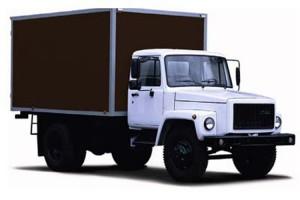 Продовольственный фургон на базе ГАЗ 3309