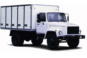 Хлебный фургон на базе ГАЗ 3309