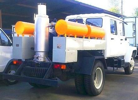 Дук-1 на шасси ГАЗ 3309