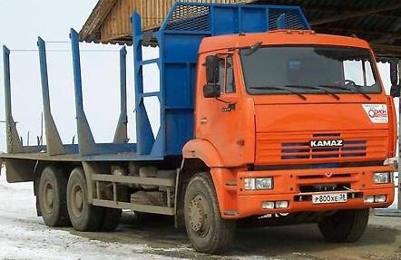 Сортиментовоз КАМАЗ 6520