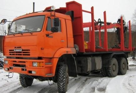 Сортиментовоз КамАЗ-65115