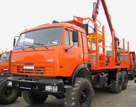 Лесовозный тягач на шасси Камаз 43118-3049-24