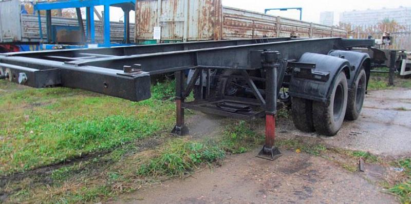 Полуприцеп-контейнеровоз СЗАП-9905