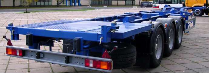 Полуприцеп-контейнеровоз СЗАП-99051
