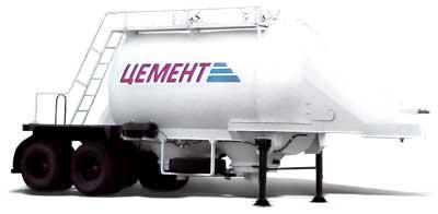 964803 - цементовоз полуприцеп-цистерна