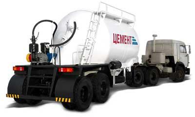 964807 - цементовоз полуприцеп-цистерна