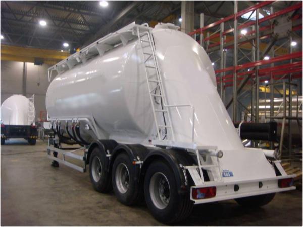964809 - цементовоз полуприцеп-цистерна