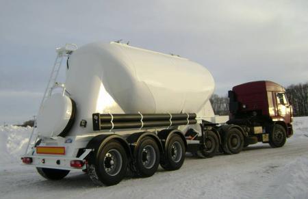 964816 - цементовоз полуприцеп-цистерна