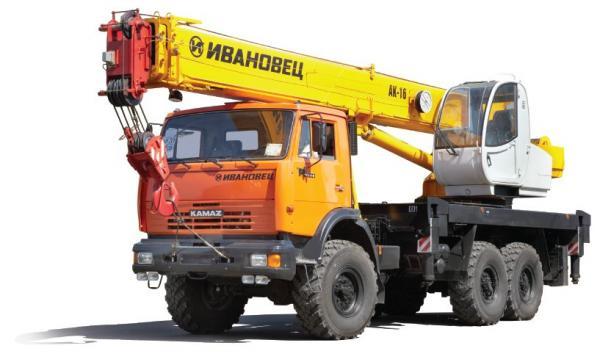 Автокран Ивановец КС-35714К2-10