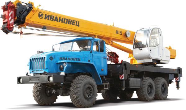 Автокран Ивановец КС-45717-1Р