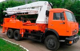 Автобетононасос КАМАЗ-6520