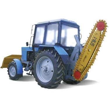 Баровая грунторезная машина БГМ-1 (грунторез)