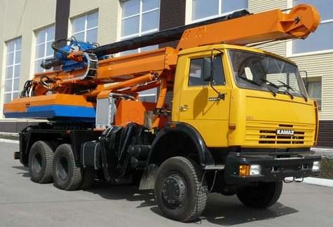 Бурильно-крановая машина БКМ-2012