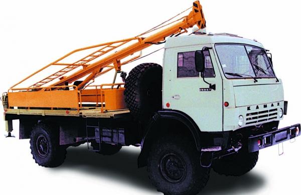 Бурильно-крановая машина БКМ-516 / БКМ-516А