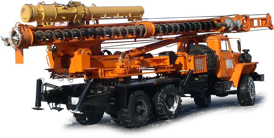 Бурильно-сваебойная машина БМ-811 / БМ-811М