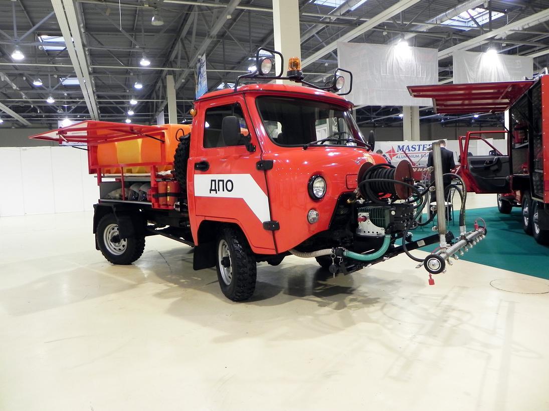 Маневренная Пожарная Машина МПМ-1500 (Катюша)