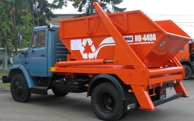 Мусоровоз контейнерный КО-440А