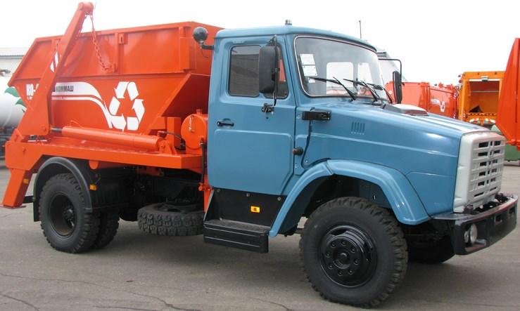 Мусоровоз контейнерный КО-440АД