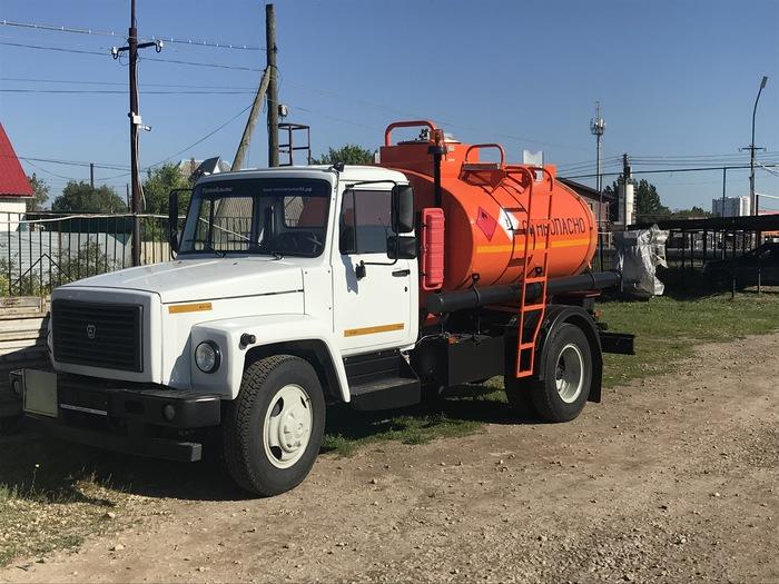 Автотопливозаправщик на базе ГАЗ 33098