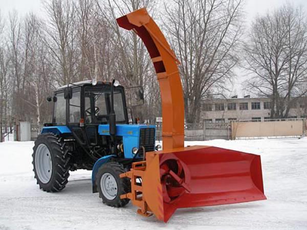 Снегоочиститель роторный ЕМ-800-01(02) с гидроприводом